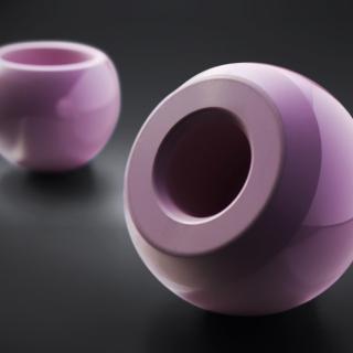 Testa in ceramica
