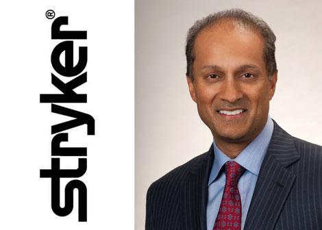 CEO Stryker Kevin Lobo