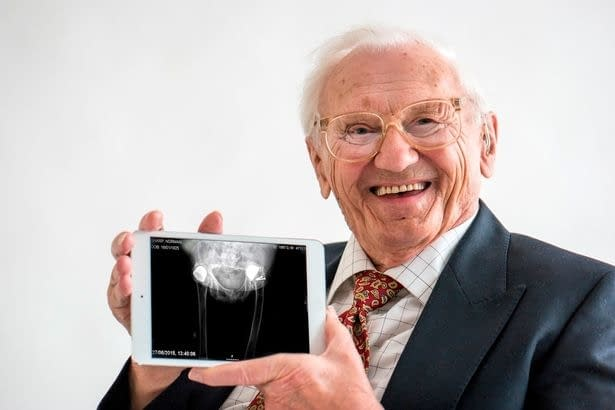 First-hip-replacement-going-great-guns-after-67-years