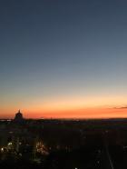 Cto di Roma tramonto autunnale