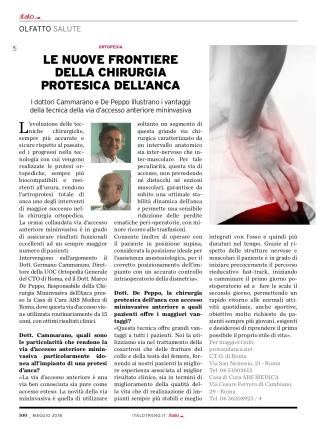 """Magazine """"Italo - I Sensi del Viaggio"""" - mag 2018"""